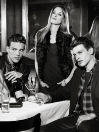 Armani Exchange Holiday 2013 Ads
