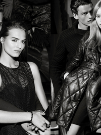 Armani Exchange Holiday 2013 Ads Photos