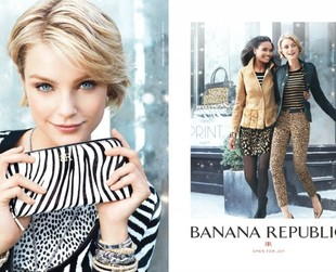 Party ensembles with a trendy twist are the focus of the new Banana Republic holiday 2013 campaign. Have a look!
