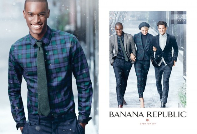 Banana Republic Christmas 2013 Campaign