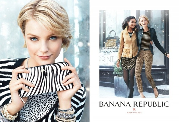 Banana Republic Holiday 2013 Ad Campaign