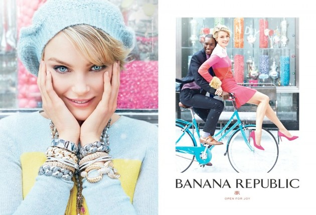 Banana Republic Holiday 2013 Ads