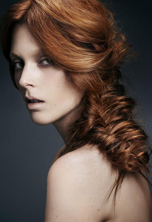 Pictures : Beautiful Hairstyles for Long Hair - Messy Firshtail Plait