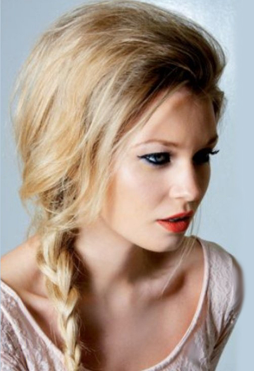Pictures : Beautiful Hairstyles for Long Hair - Simple Braid Hairstyle
