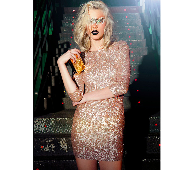 Bershka Sequin Dress