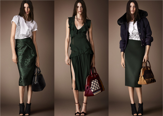 Burberry Pre Fall 2014 Collection
