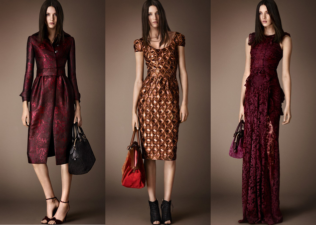 Burberry Pre Fall 2014 Lookbook