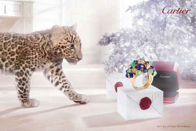 Cartier Winter 2013 Campaign