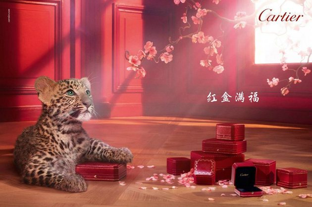 Cartier Winter Tale 2013 Ad Campaign
