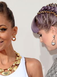 Celebrity Hairstyles at American Music Awards 2013