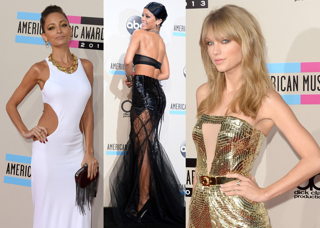 Celebrity Style at American Music Awards 2013