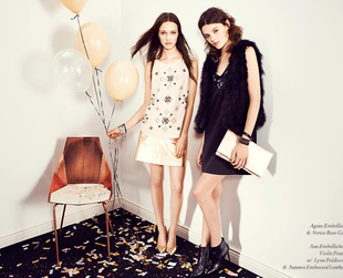 Have a look at the party-ready ensembles from the Club Monaco holiday 2013 line!