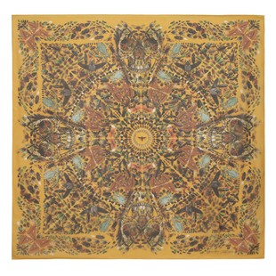 Damien Hirst For Alexander Mc Queen Scarf  (12)