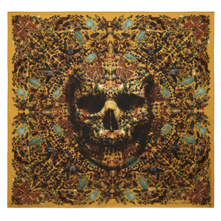 Damien Hirst For Alexander Mc Queen Scarf  (13)