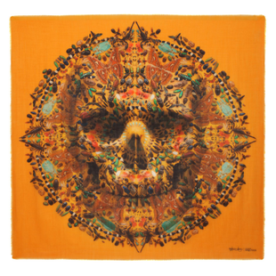 Damien Hirst For Alexander Mc Queen Scarf  (14)