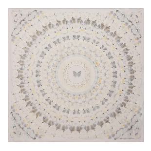 Damien Hirst For Alexander Mc Queen Scarf  (15)