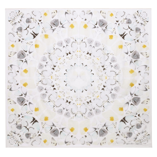 Damien Hirst For Alexander Mc Queen Scarf  (16)