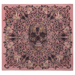 Damien Hirst For Alexander Mc Queen Scarf  (18)