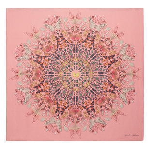 Damien Hirst For Alexander Mc Queen Scarf  (19)