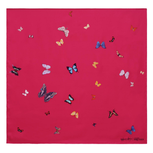 Damien Hirst For Alexander Mc Queen Scarf  (21)