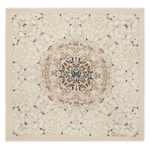 Damien Hirst For Alexander Mc Queen Scarf  (22)