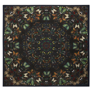 Damien Hirst For Alexander Mc Queen Scarf  (5)