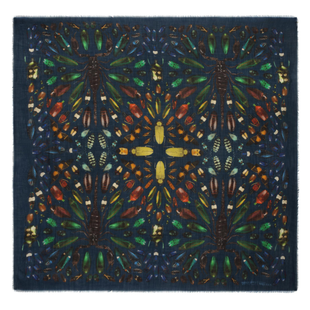 Damien Hirst For Alexander Mc Queen Scarf  (6)