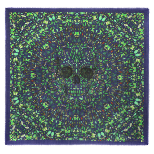 Damien Hirst For Alexander Mc Queen Scarf  (8)