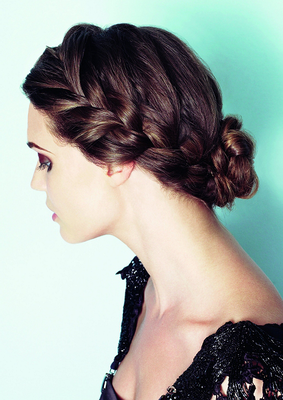 Downward Milkmaid Braid