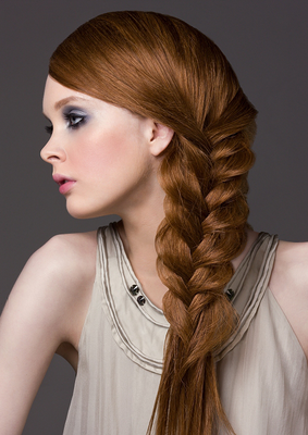Over The Shoulder Braid