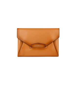 Givenchy Spring 2014 Brown Clutch