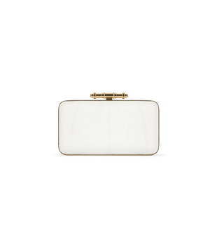 Givenchy Spring 2014 White Clutch