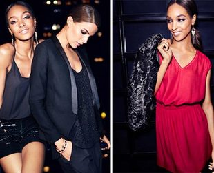 Check out the party ready ensembles H&M prepared for holiday 2013.