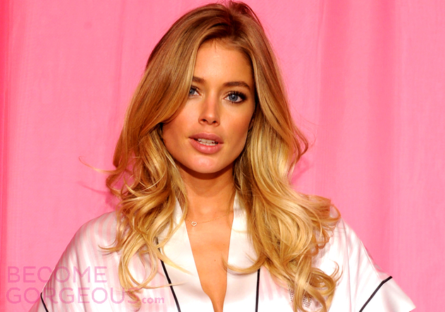 Doutzen Kroes Victorias Secret Hairstyle