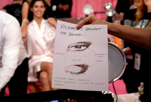 Eye Makeup Victorias Secret Fashion Show 2013