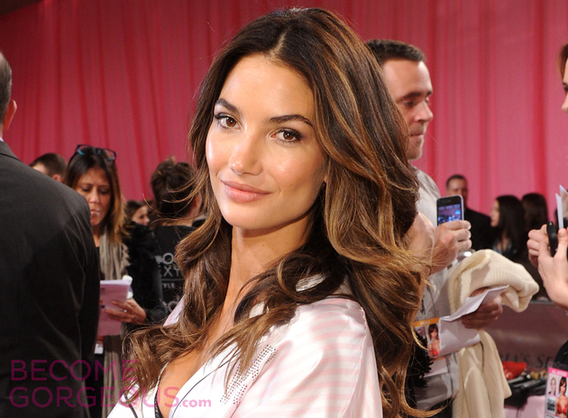 Lily Aldridge Victorias Secret Fashion Show 2013