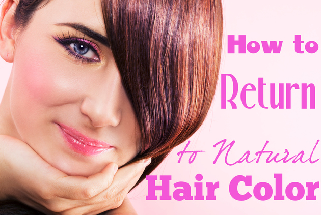 How to Go Back to Your Natural Hair Color