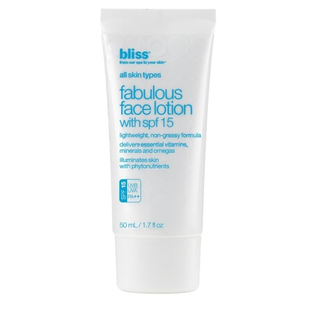 Bliss Fabulous Face Lotion With Spf 15
