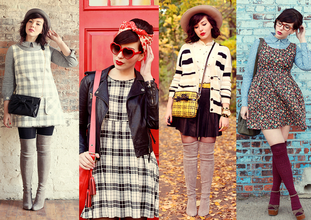 Vintage Style Fashion Images Galleries With A Bite