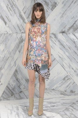 Just Cavalli Pre Fall 2014 Dress