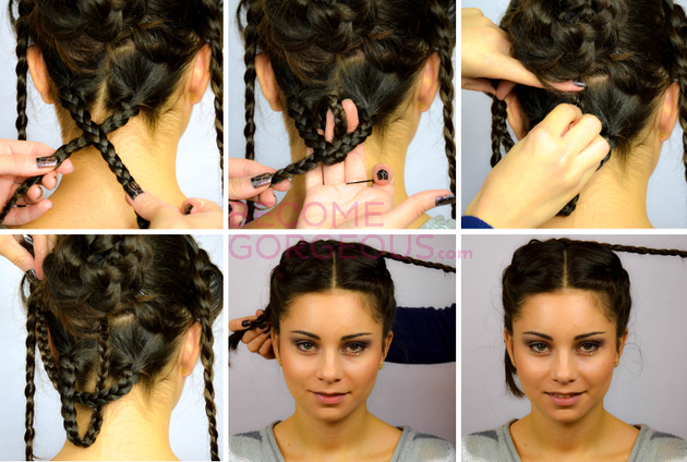 Girl on Fire Hunger Games Braids | POPSUGAR Beauty
