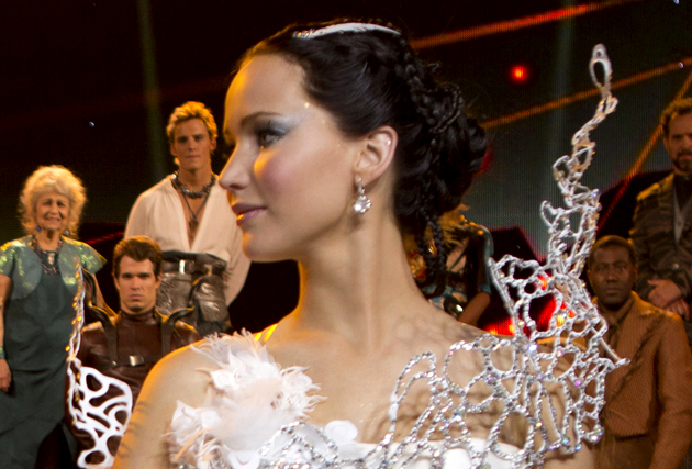 Katniss Everdeen Wedding Hairstyle