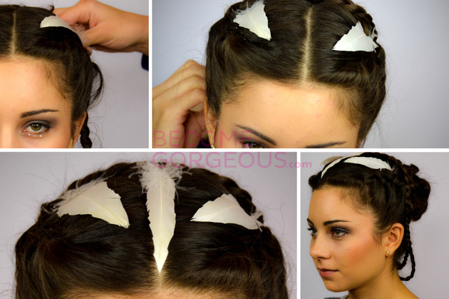 Pictures Katniss Everdeen Wedding Updo Tutorial Video