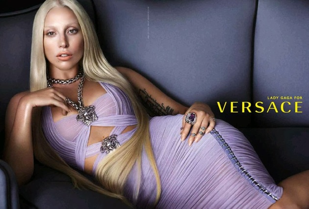 Lady Gaga for Versace Spring/Summer 2014 Campaign