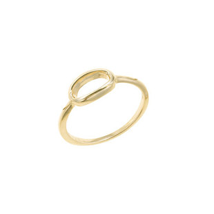 Lulu Frost 14k Gold Code Ring 0