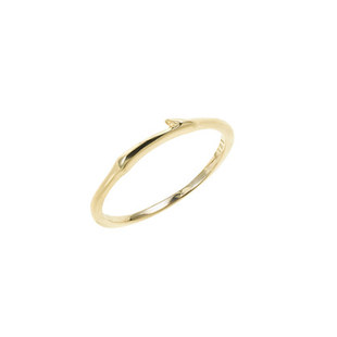 Lulu Frost 14k Gold Code Ring 1