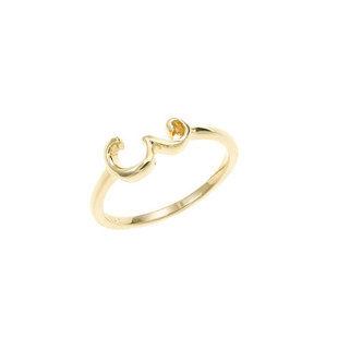 Lulu Frost 14k Gold Code Ring 3