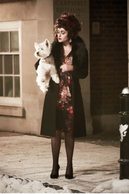 Helena Bonham Carter For Marks   Spencer Christmas Campaign