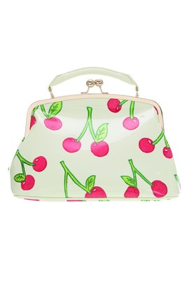 Cherries Print Bag