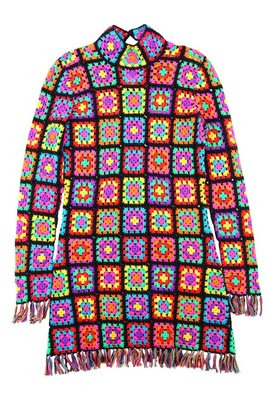 Colourful Knit Dress